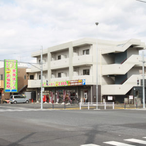 日吉元石川線 高田駅入口交差点
