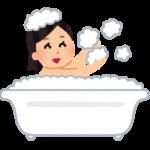 お風呂でポカポカ